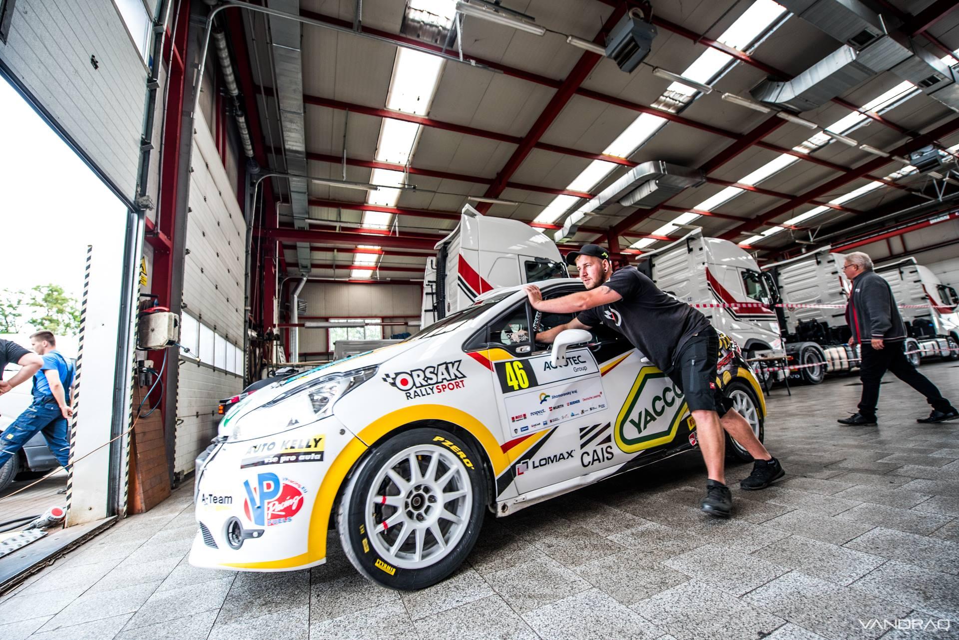 Erik Cais - Rally Hustopeče 2018