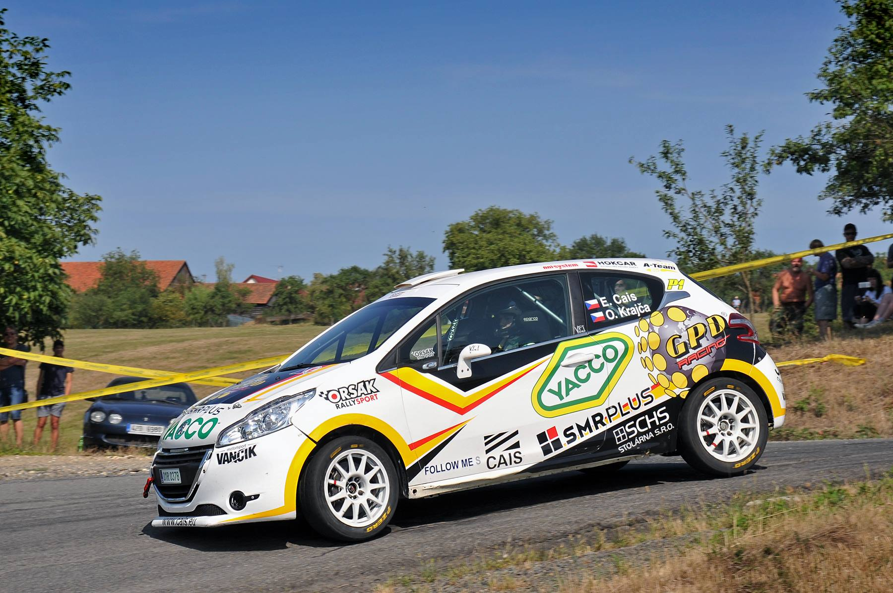 Eric Cais - Barum Rally Czech Zlín
