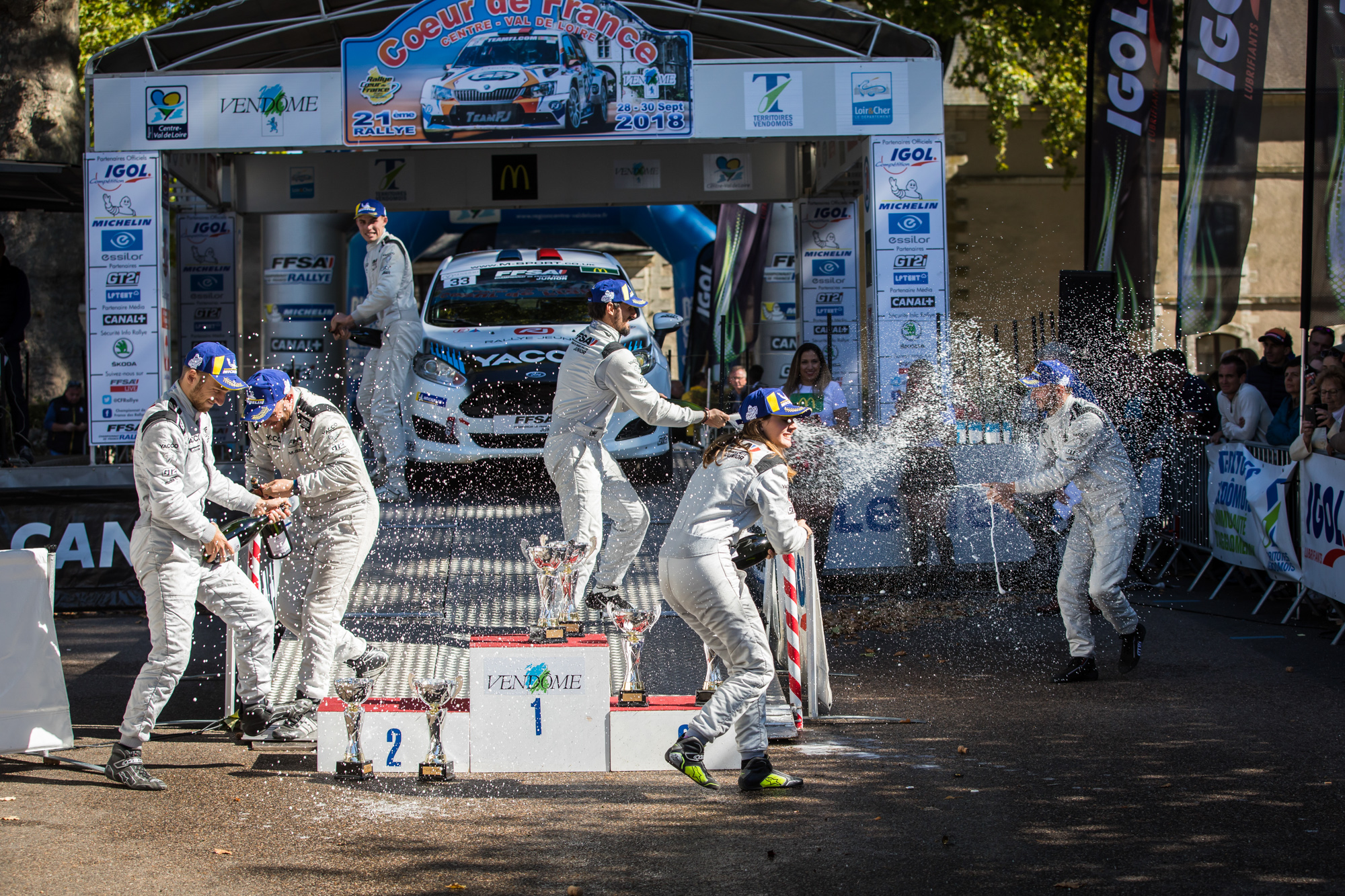 Mistrovství Francie - Rally juniorů 2018, Savigny-sur-Braye