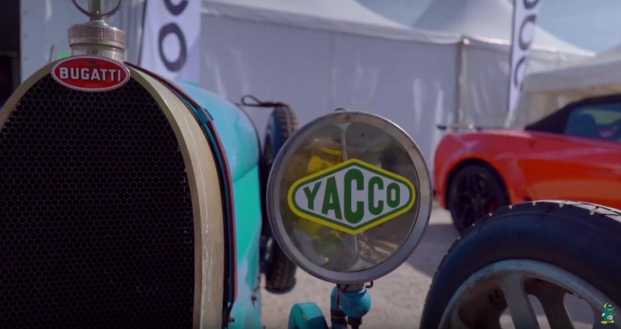 Les Grandes Heures Automobiles, avec Yacco
